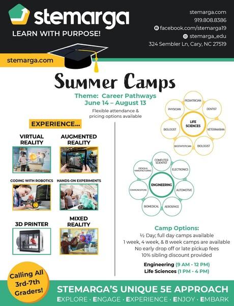 stemarga summer camps